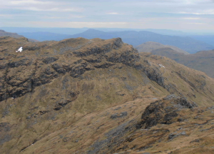 Beinn a'Chroin from An Caisteal (Photo: Ken Stewart)