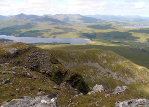 and from Beinn an Dothaidh (photos: Ken Stewart)